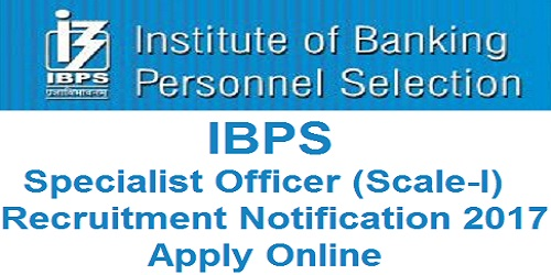 IBPS SPL VII Notification 2017
