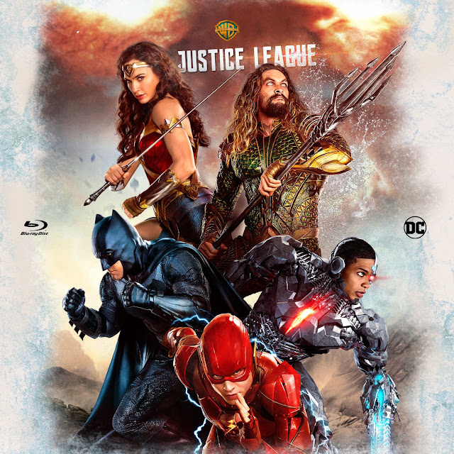 Justice League Bluray Label