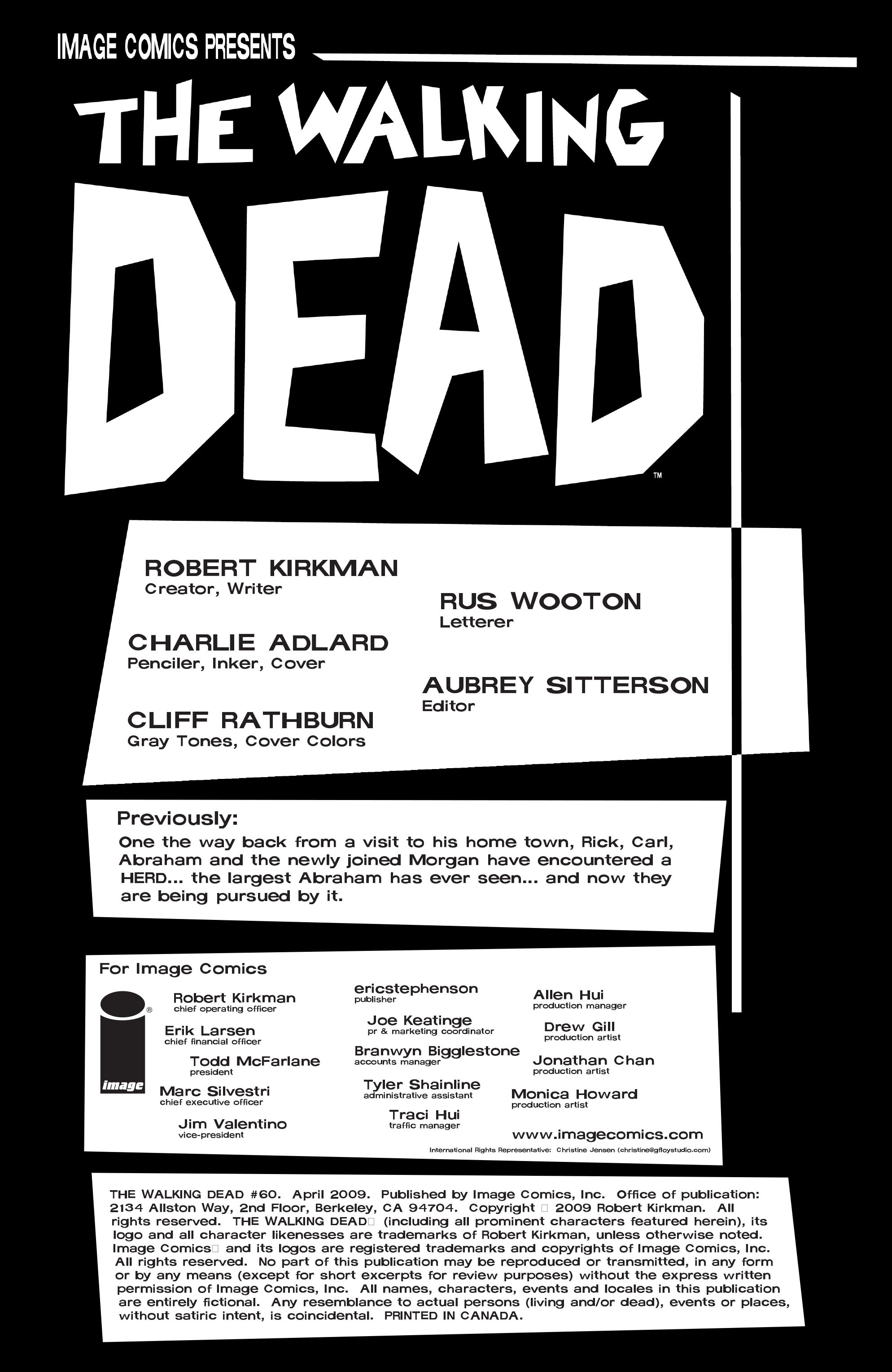 The Walking Dead 60 Page 2