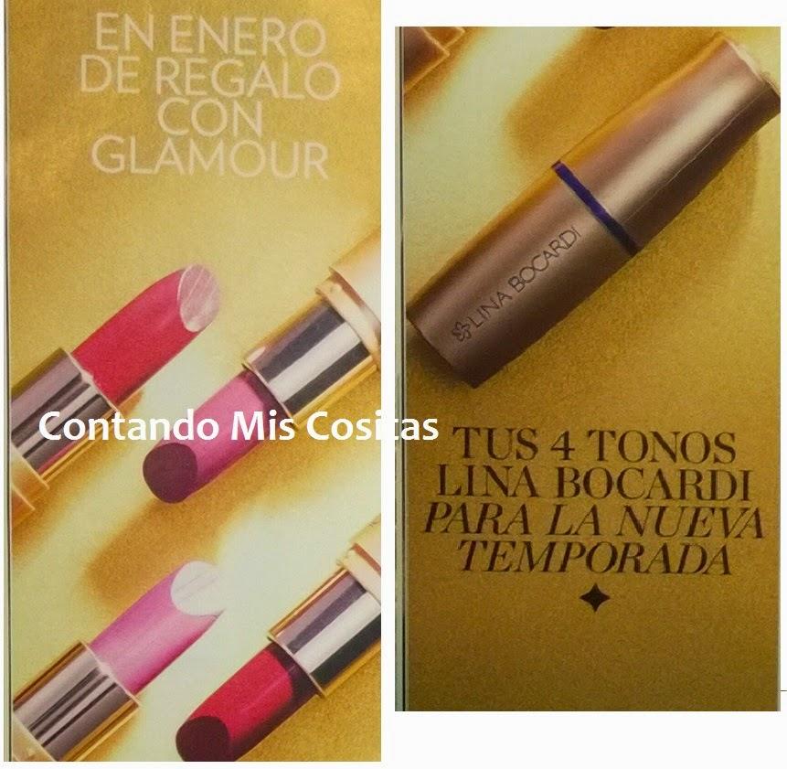 Revista Glamour Enero 2015 regalo