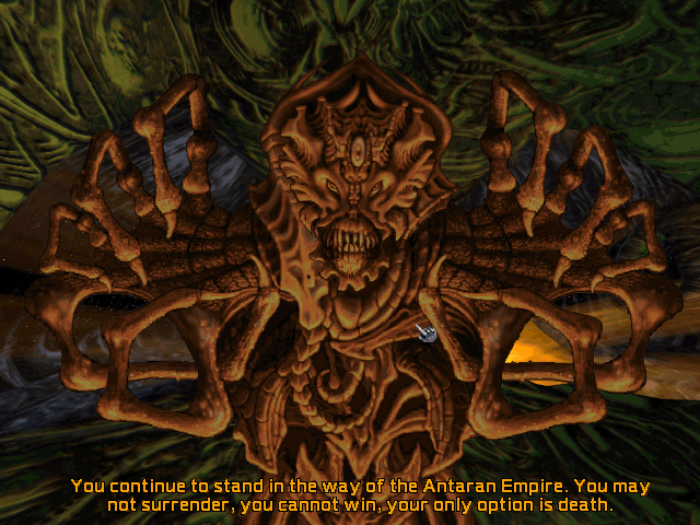 Screenshot from Master of Orion II