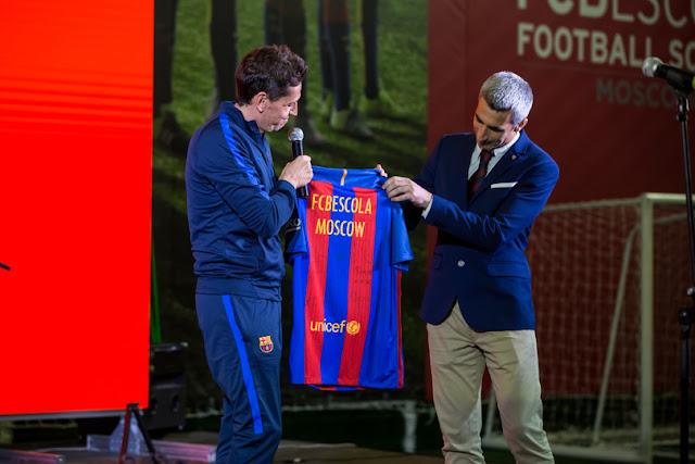 El Barça abre otra FCBEscola esta vez en Rusia