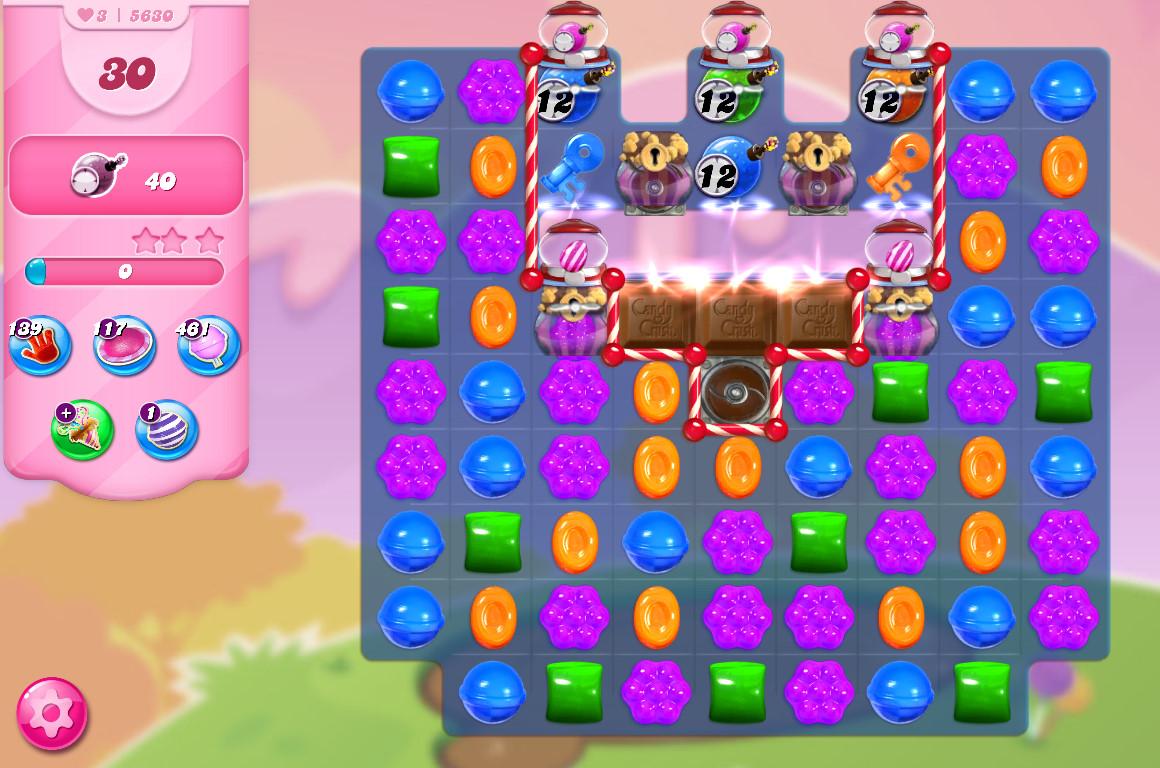 Candy Crush Saga level 5630