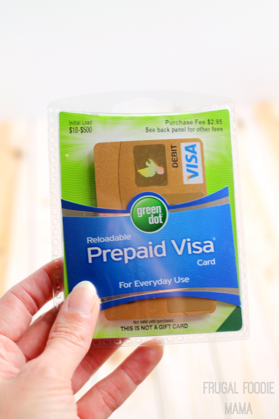 frugal foodie mama travel budgeting made easy with visa clear prepaid - Green Dot Prepaid Visa Card