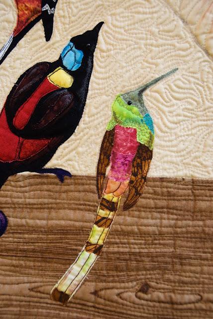 quilted colibri