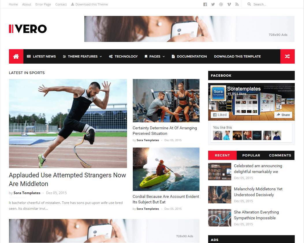 Blogger Tips And Tricks Ivero Full Version Blogger Template Free