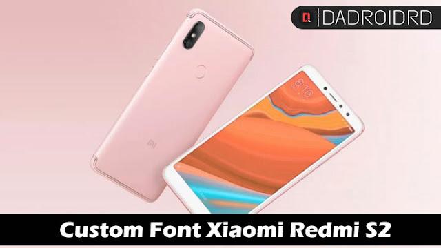 Cara mengganti Font Xiaomi Redmi S2 Tanpa ROOT di MIUI 9/10