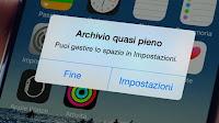 iPhone pieno, 2 trucchi per recuperare spazio archiviazione