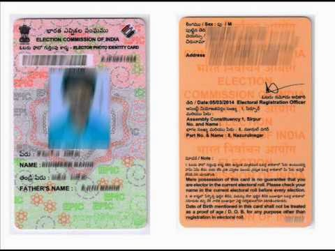 Voter id card online status for Delhi, U.P, Gujarat and other states.