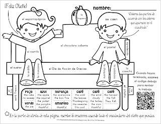 Printables Bilingual Worksheets bilingual teacher clubhouse autumn spanish vocabulary worksheet freebie