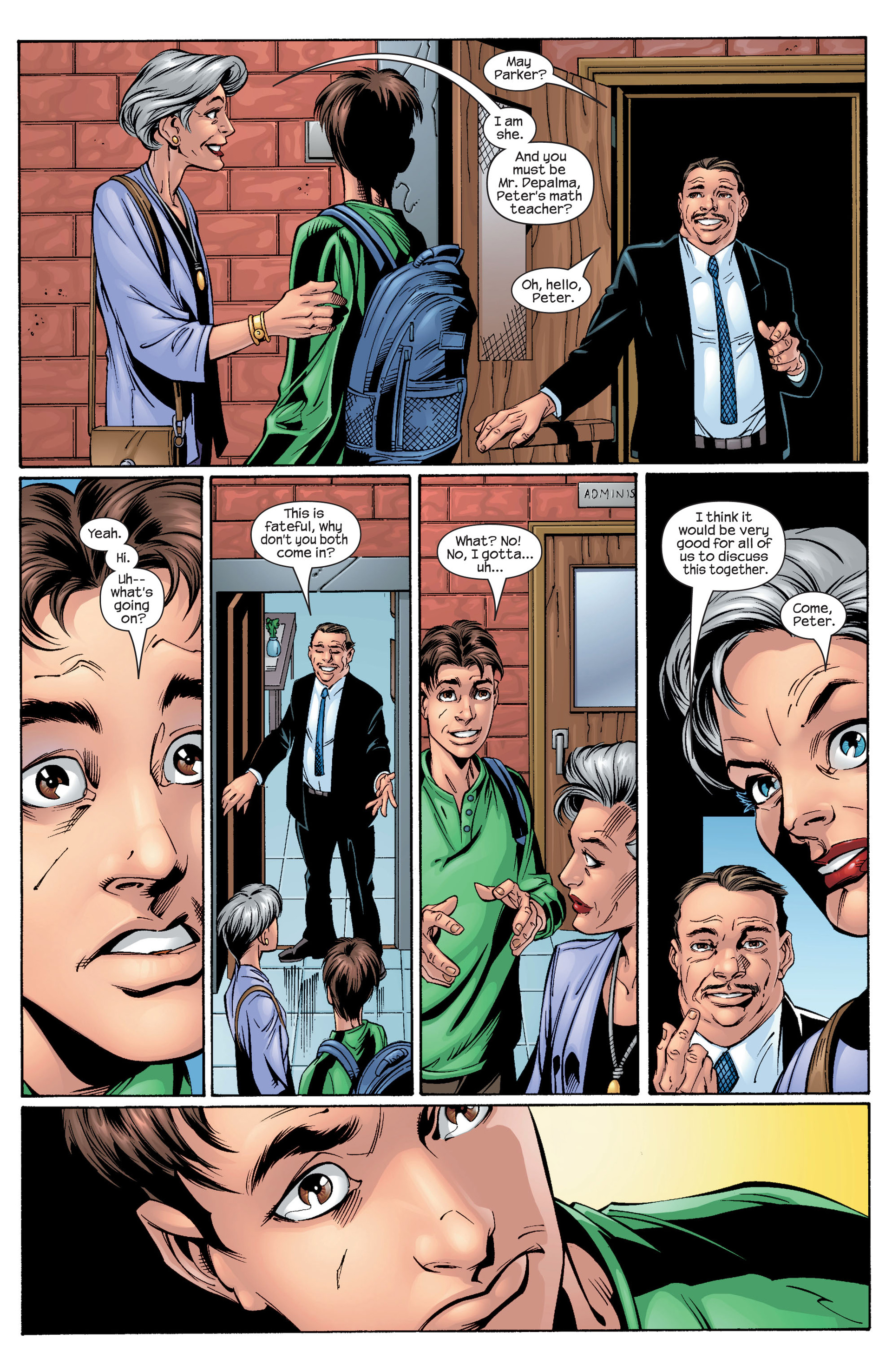 Read online Ultimate Spider-Man (2000) comic -  Issue #28 - 8