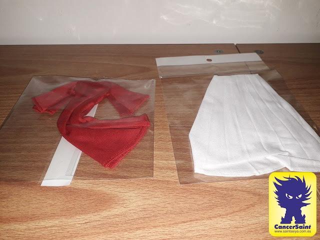 Revisión de la capa y túnica de Billy Dragon para Phoebus Abel Myth Cloth