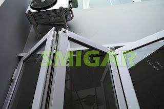 pintu lipat upvc bandung 081223309932