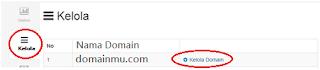 Ganti merubah Blogspot menjadi com