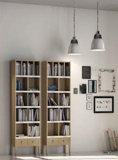 Libreria Estrecha Roble Amkera