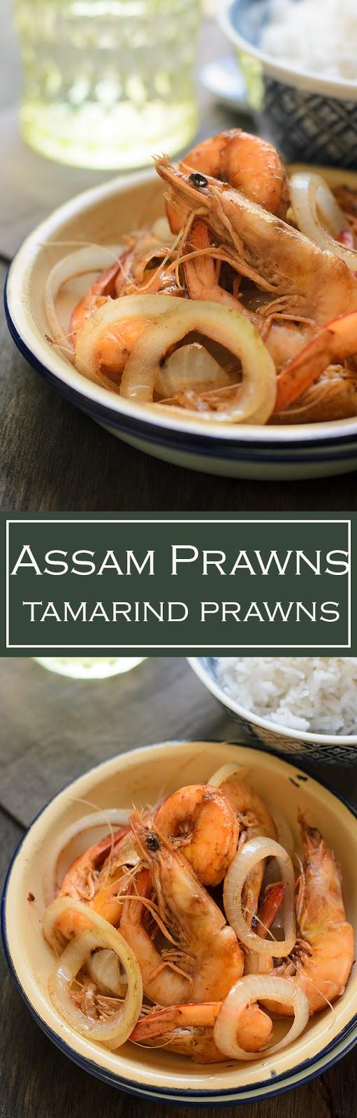 Tamarind prawns image