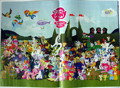 S2 cast poster from inside the UK MLP:FiM mag