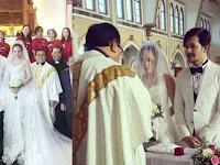 Heboh Wulan Guritno Unggah Foto Pakai Gaun Pengantin dan Menikah di Gereja