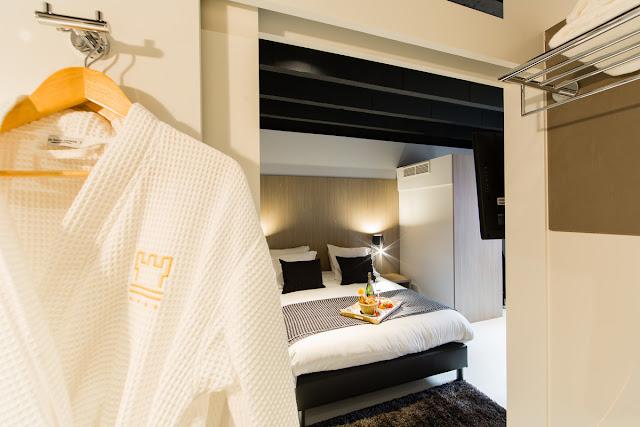 Habitación del hotel Le Flandre