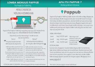 Lomba Menulis dari Pappub 2016