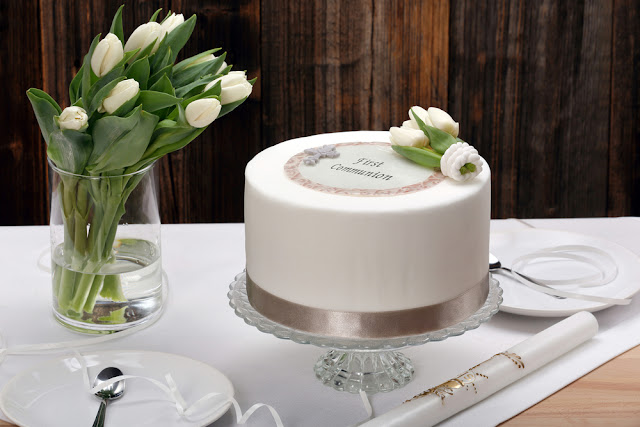 deco gateau communion