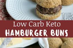 Low Carb Keto Hamburger Buns