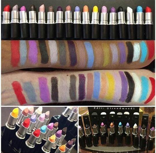 mac eyeliner fluo fluorescent trend makeup occhi zairadurso zaira d'urso fashion's obsessions fashion blog beauty swatch