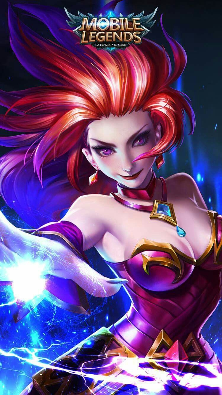 wallpaper Eudora mobile legends 3d