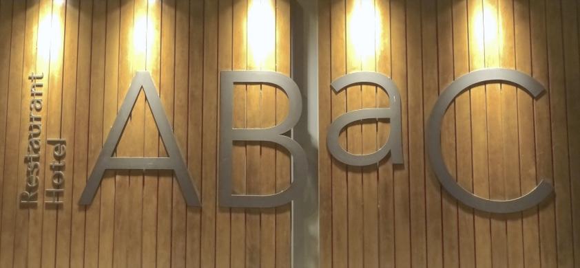 Estamostendenciados restaurante abac de jordi cruz un magn fico dos estrellas en barcelona - Restaurante 7 puertas barcelona ...