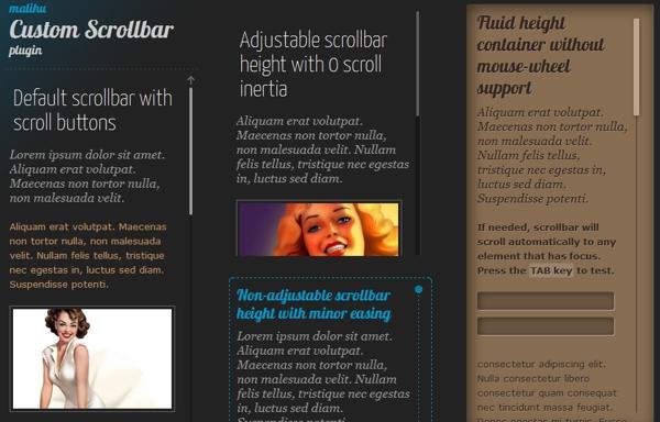 Malihu Custom Scrollbar