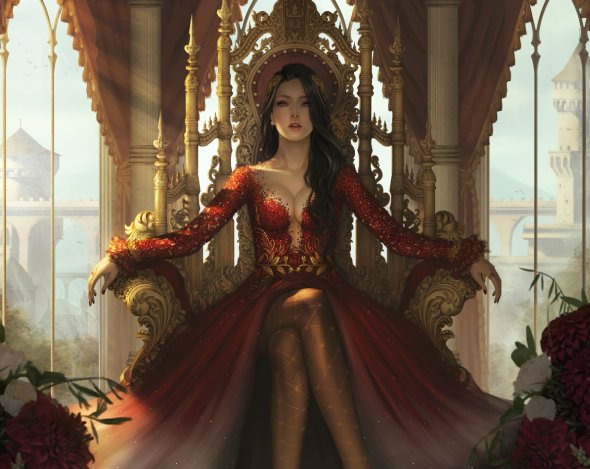 Ina Murwani Prasetyaningrum (Ina Wong) deviantart artstation arte ilustrações fantasia mulheres beleza