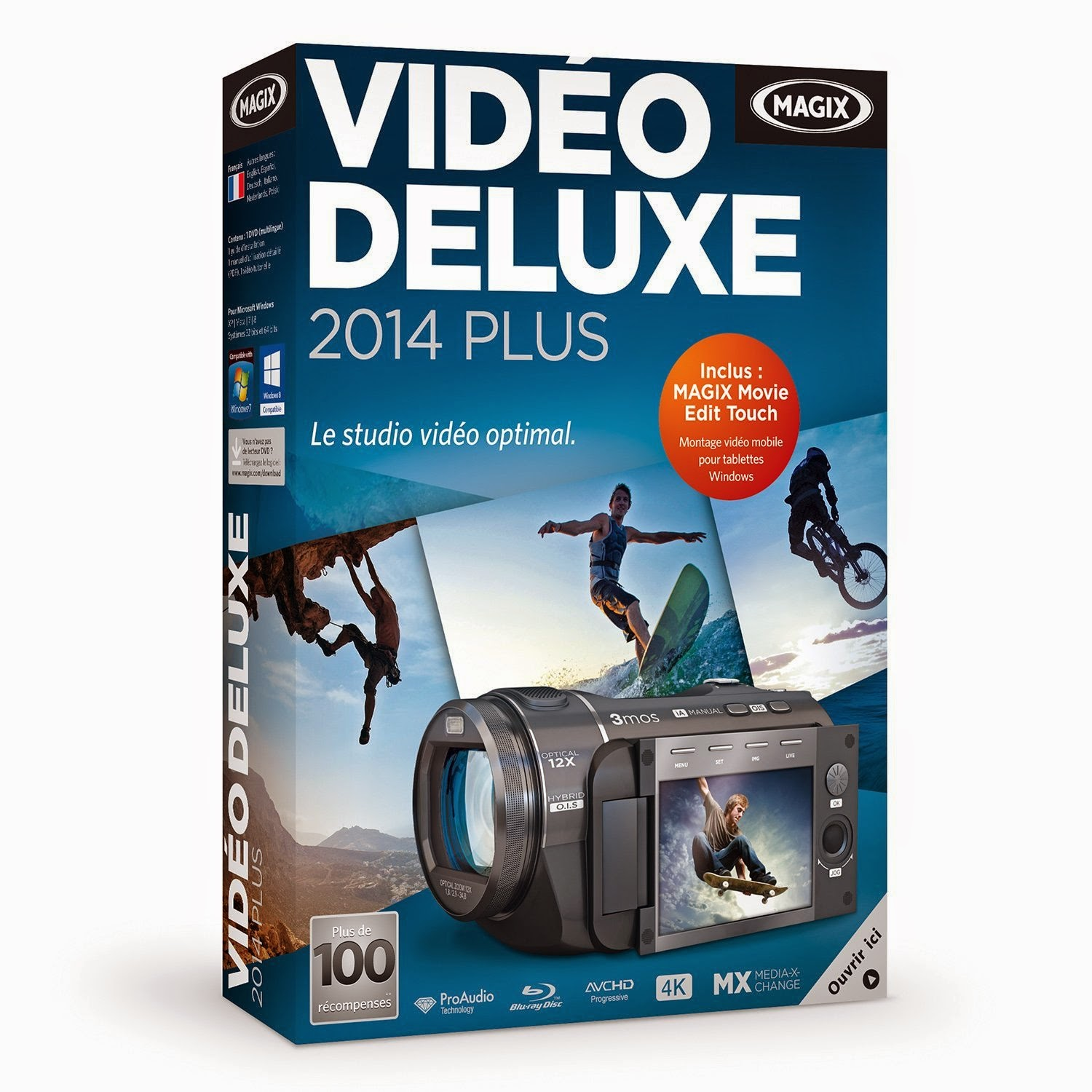 Photo Studio Gratuit Français Magix Vidéo Deluxe Plus 2014 Inclus Crack 43 Keygen Inclus