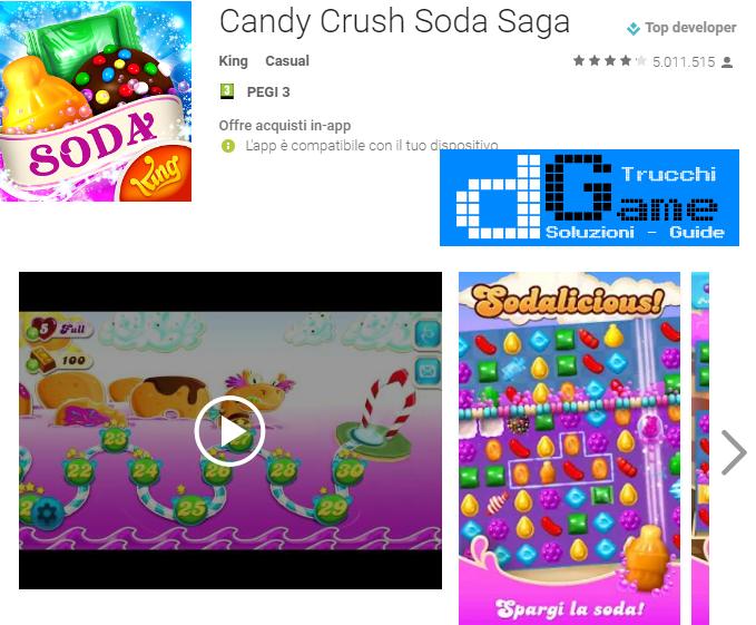 Trucchi Candy Crush Soda Saga Mod Apk Android vv1.81.10