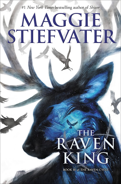 Beautiful 2017 Book Cover Designs animal double exposure raven king maggie stiefvater