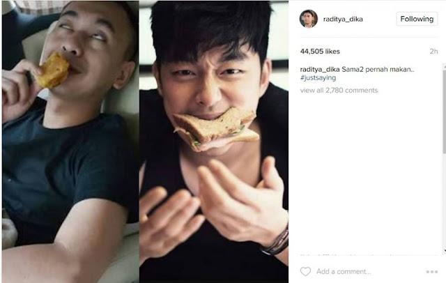 Pasang Foto 'Dipaksa Mirip' Pemeran Goblin, Raditya Dika Bikin Geli Netizen