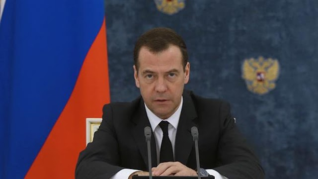 Russian militants in Syria pose threat once back home: Russian Prime Minister Dmitry Medvedev