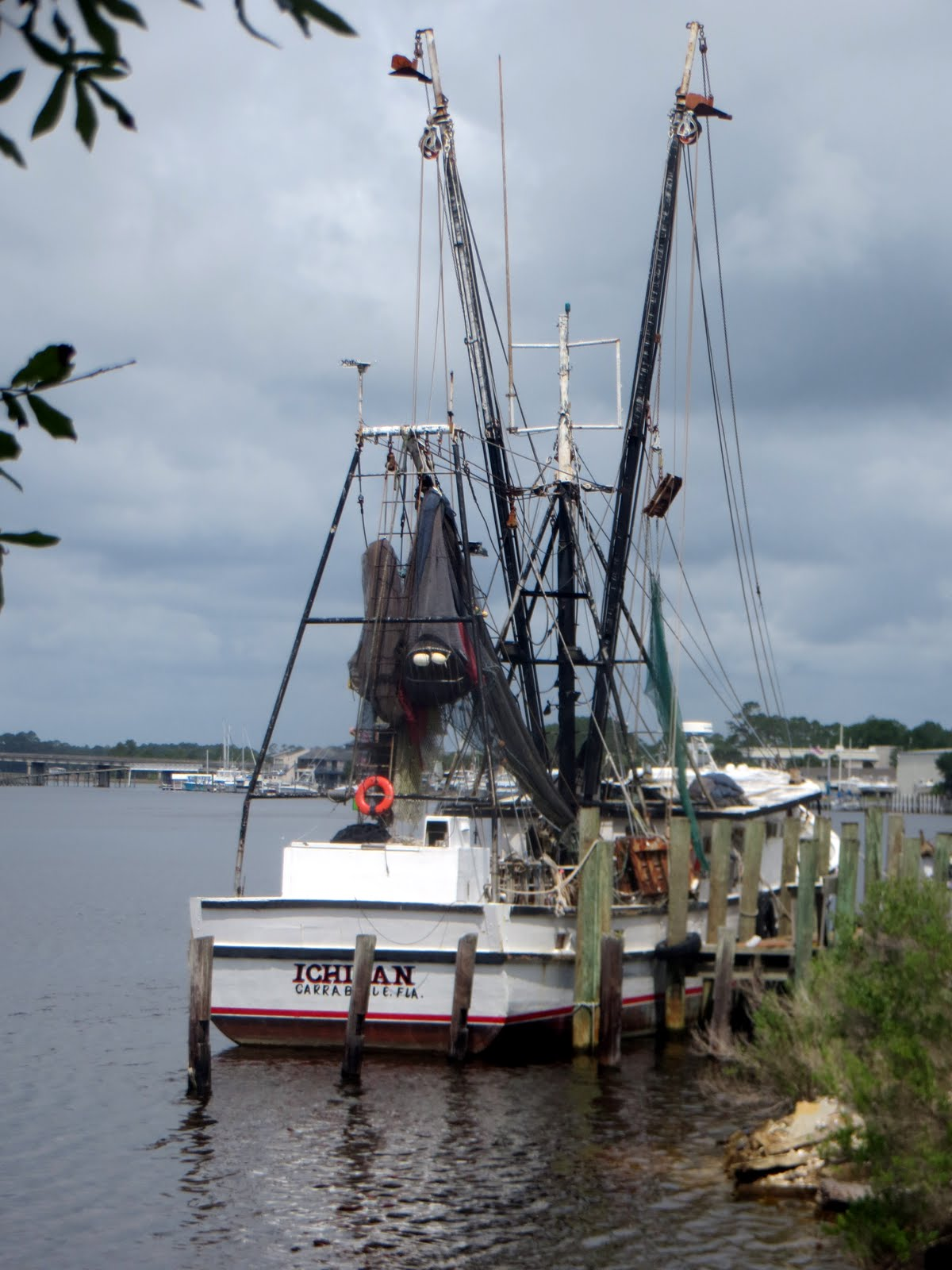 Bob and linda 39 s rv travels carrabelle fl may 2017 for Commercial fishing florida
