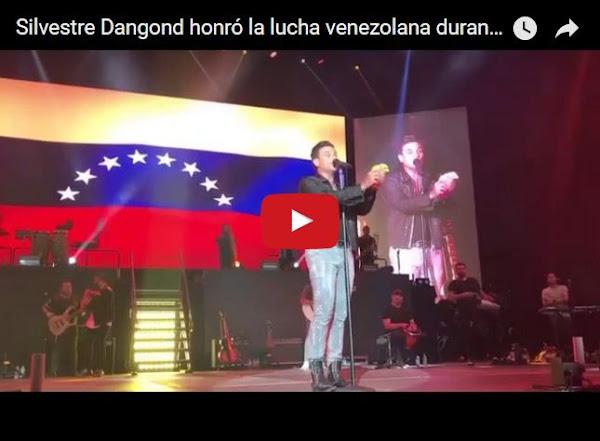 Silvestre Dangond dedicó canción a la resistencia Venezolana