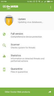Dr. Web Antivirus Light Daftar Antivirus Gratis Terbaik Untuk Android