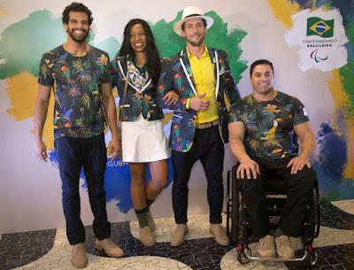 Resultado de imagem para uniformes das paralimpíadas