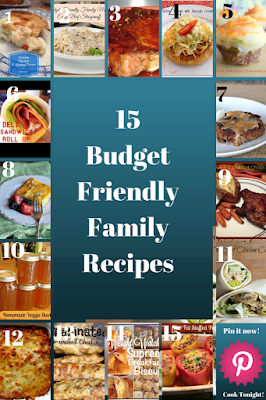 Budget Friendly Family Recipes | featured on www.BakingInATornado.com