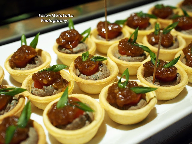 Chicken Liver Mousse Tartlets With Onion Jam