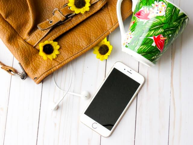 Background Bag Beautiful Flowers Board HD Copyright Free Image