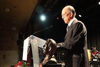 Gala de entrega del premio Barakaldo Solidario a Gorabide