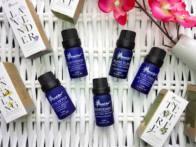 Sacred Soul Holistics Essential Oils: Eucalyptus, Lavender, Peppermint, Ylang-Ylang and Tea Tree