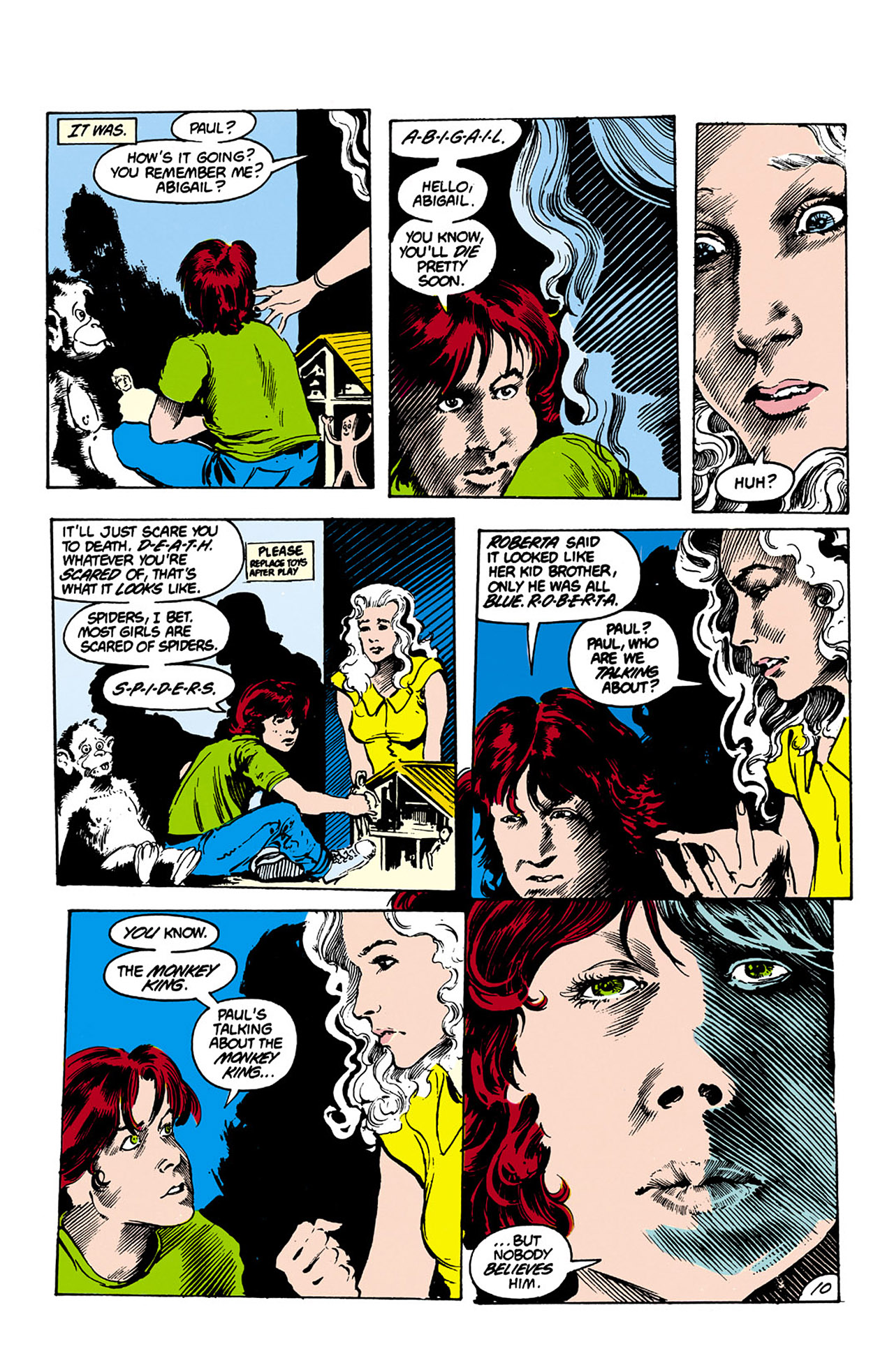 Swamp Thing (1982) Issue #26 #34 - English 10