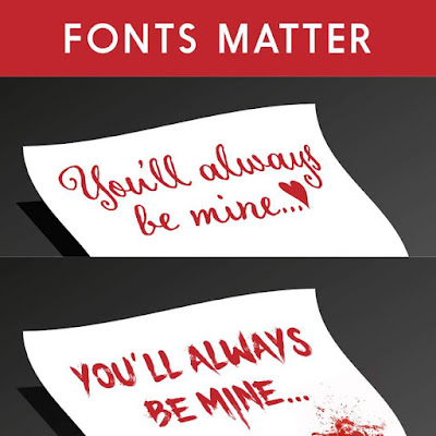 Fonts matter picture - You'll always be mine
