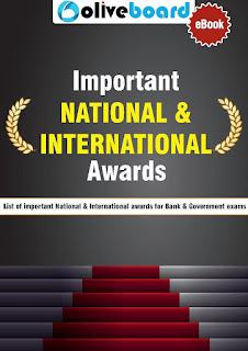 Important National & International Awards by Oliveboard