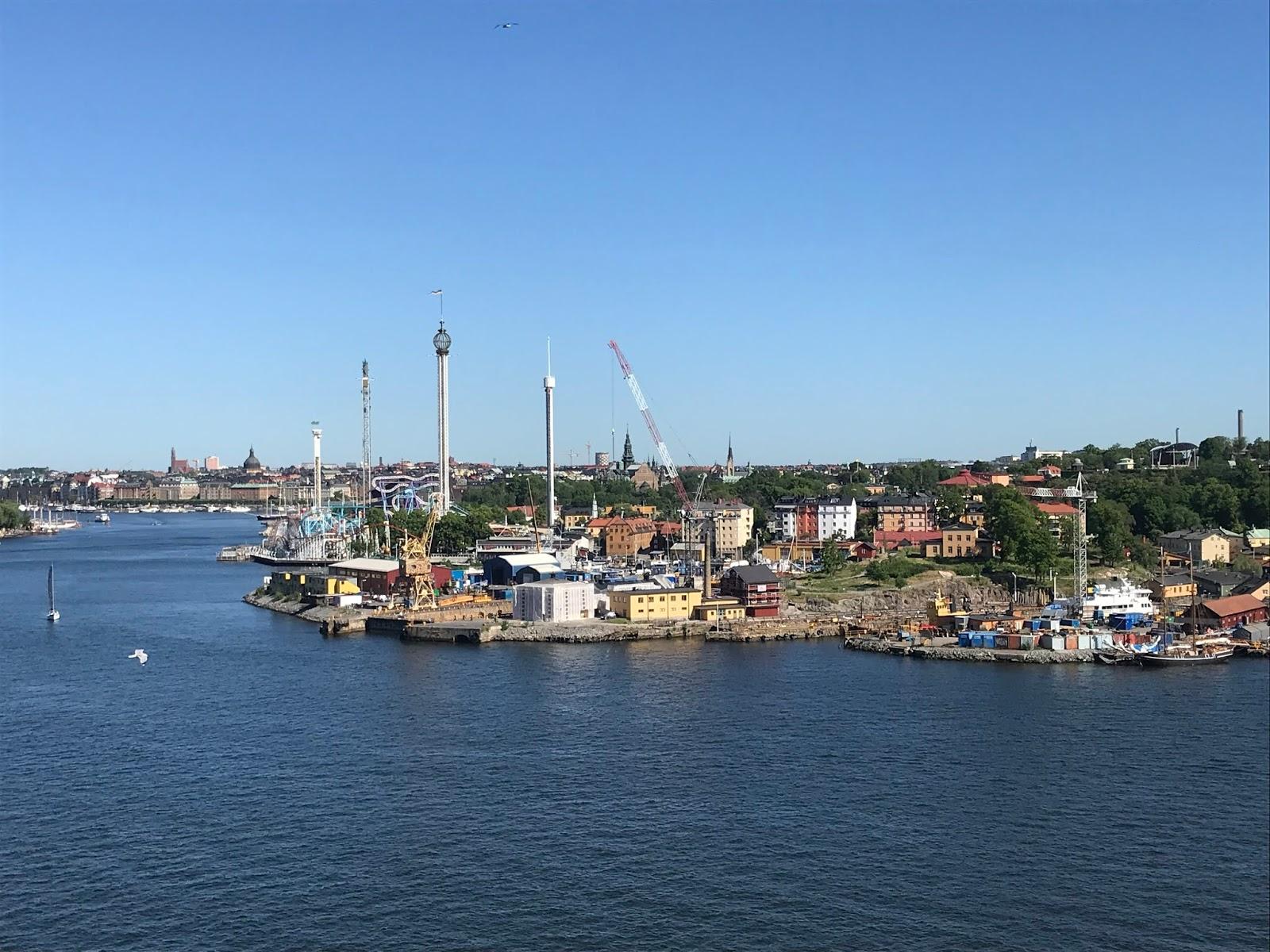 Parque de diversoes em Estocolmo na Suécia