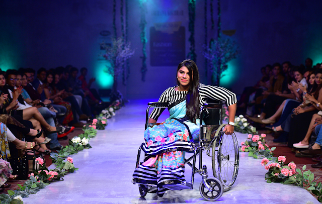 "Designer Archana Kochhar promotes ""Global disability inclusion"" at the Bangalore Fashion Week, 15th Edition"